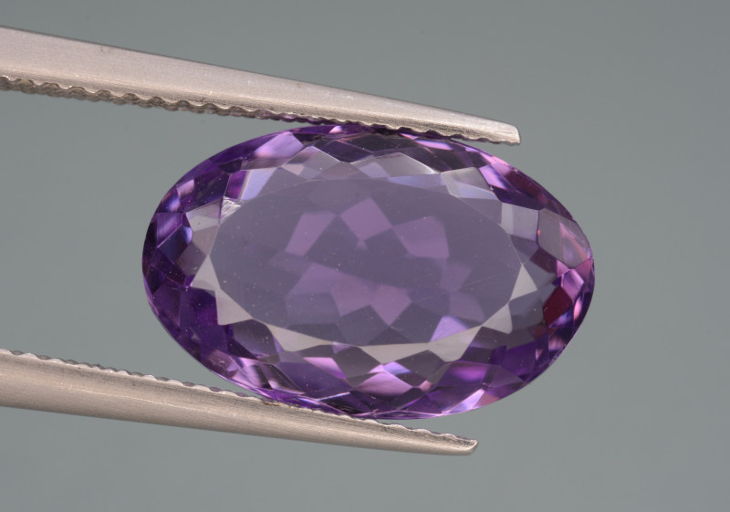 Natural Amethyst 5.91v Cts Top Quality