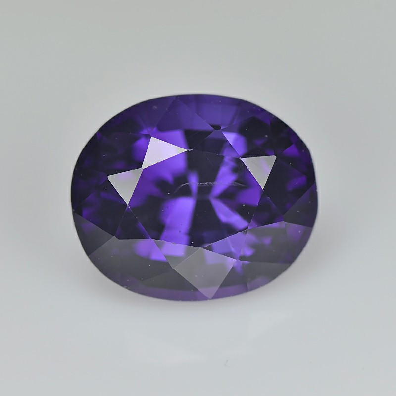 Spinel 1.77 Cts Purple Step cut BGC1483