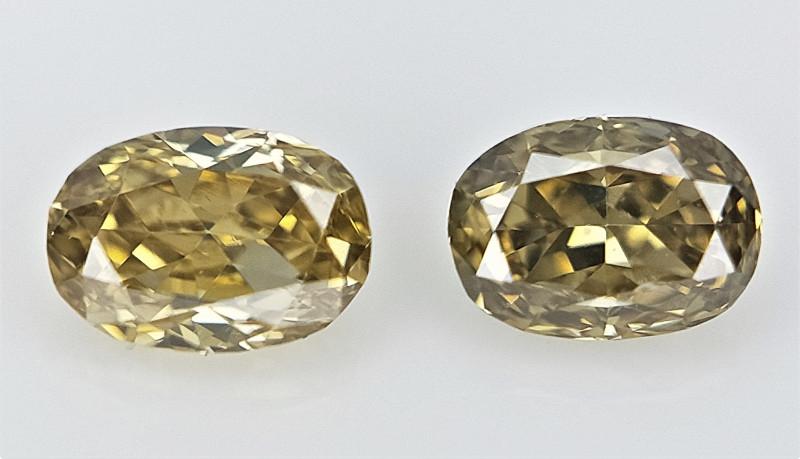 0.13 cts .Fancy shape Diamond ,  Fancy Color Diamond