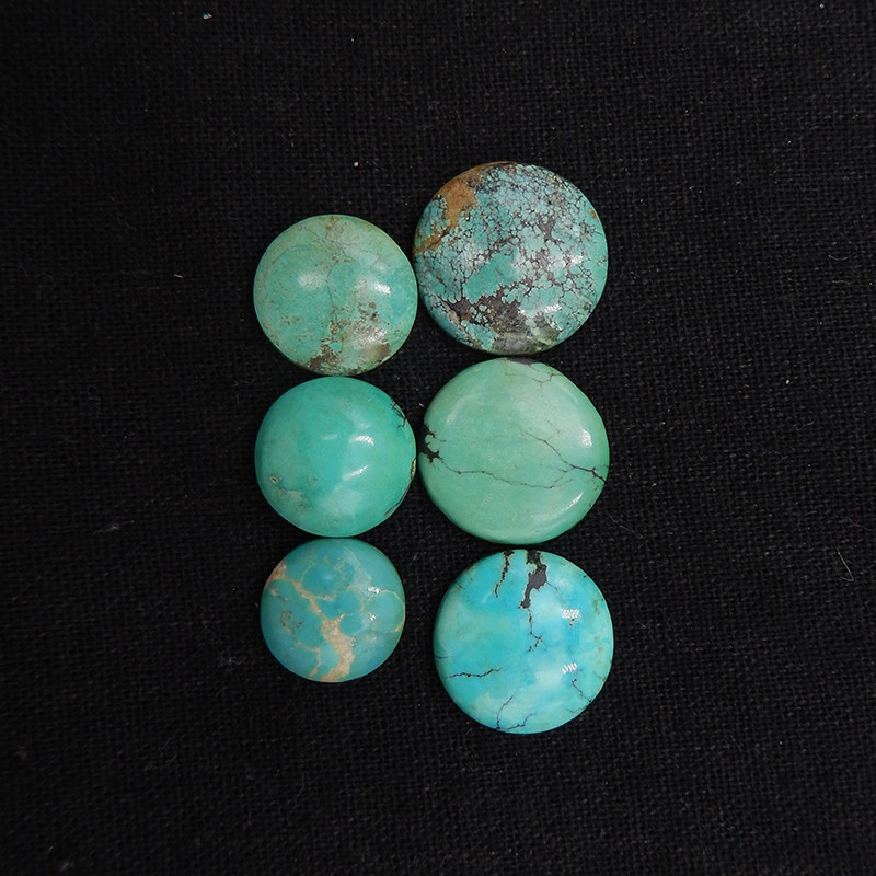 58.0cts Lucky Turquoise, Handmade Gemstone, Turquoise Cabochons, Lucky Ston
