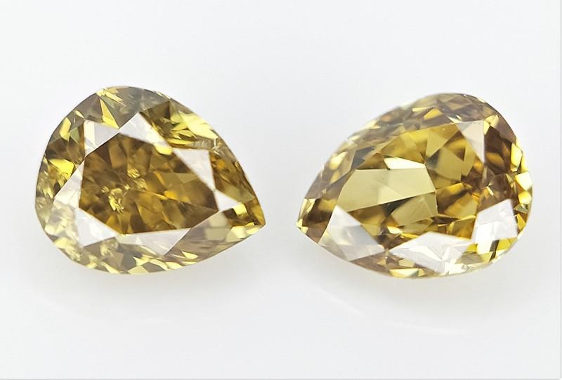 0.19 CTS Fancy shape Diamond ,  Fancy Color Diamond