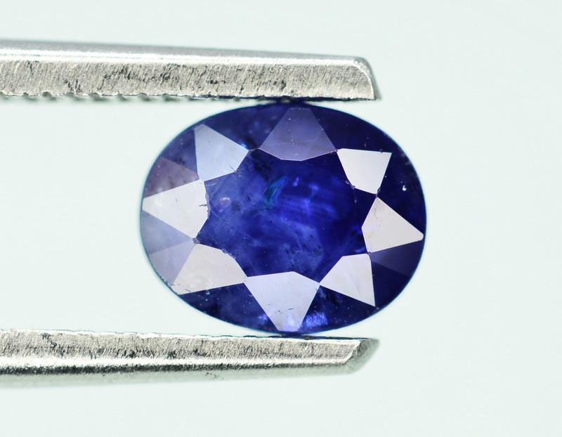 Gorgeous Color 1.00 Ct Natural Royal Blue Ceylon Sapphire ~ 1