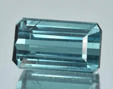 3.19 CTS Top Blue Indicolite Tourmaline Gem