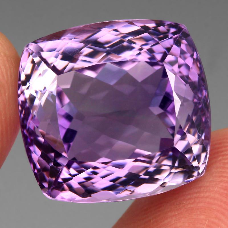 33.82 ct 100% Natural Earth Mined Unheated Purple Amethyst, Uruguay