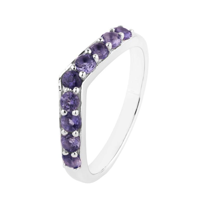 Iolite 925 Sterling silver ring #36712