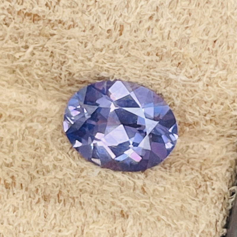 Very nice reflective cut.   As you can see there is no window in these sapphires I have up for sale.  I don't like window cutting.