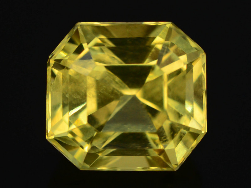 Citrine 6.35 Ct Natural Yellow Color Citrine t