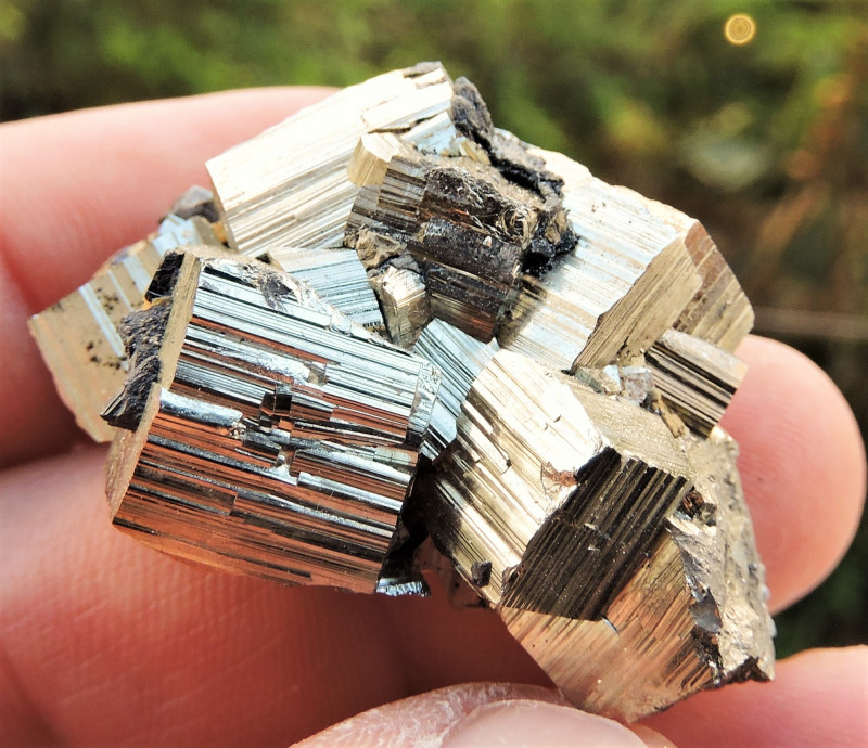 43.59g PYRITE COMPLEX AND SPHALERITE FROM MADAN FIELD BULGARIA