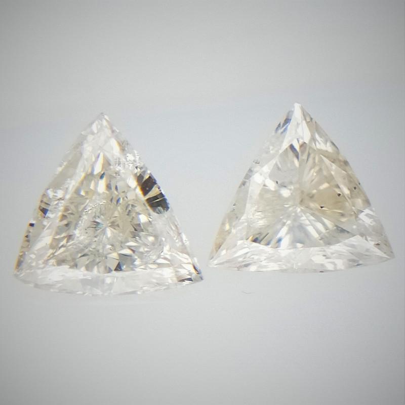 0.25 cts White Colored Diamonds , Fancy Shaped Diamond