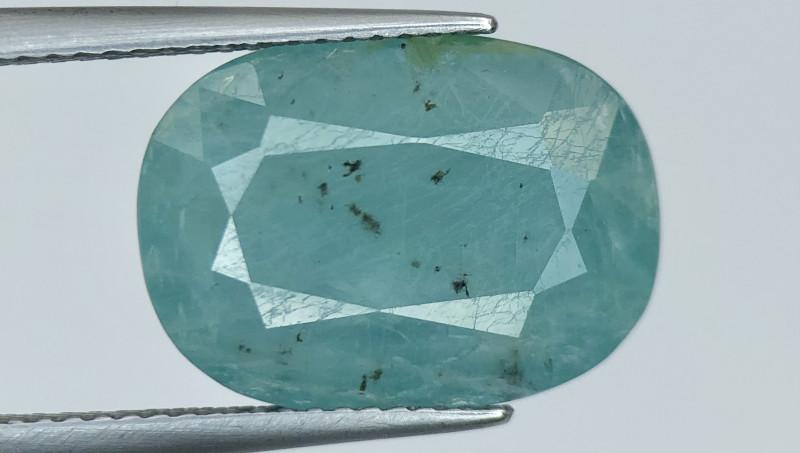 ~No Reserve~  7.50 ct Natural Grandidierite Greenish Blue Colo