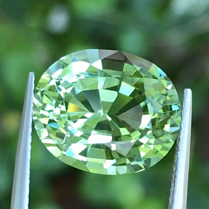 6.80 ct CERTIFIED Mozambique Tourmaline With Excellent Luster and Fine Cutt