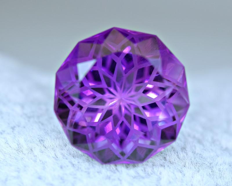 WOW 20.20Carat  Amethyst Top Cut Gemstone