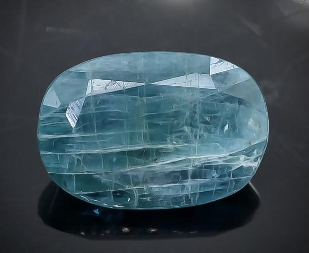 2.54 Crt Natural Grandidierite Faceted Gemstone.( AB 18)