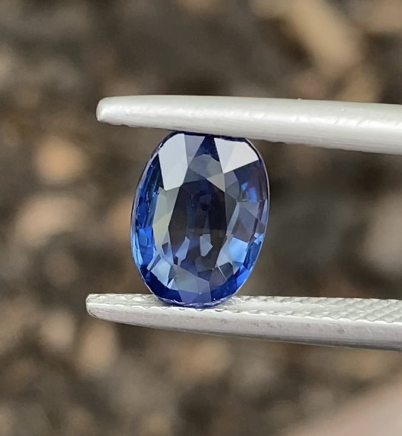 Natural Sapphire 2.06 Cts Blue Color Gemstone.
