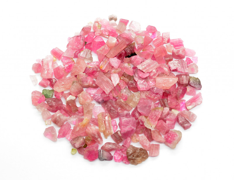 100 Cts Beautiful Pink Colour Tourmaline From Afghanistan