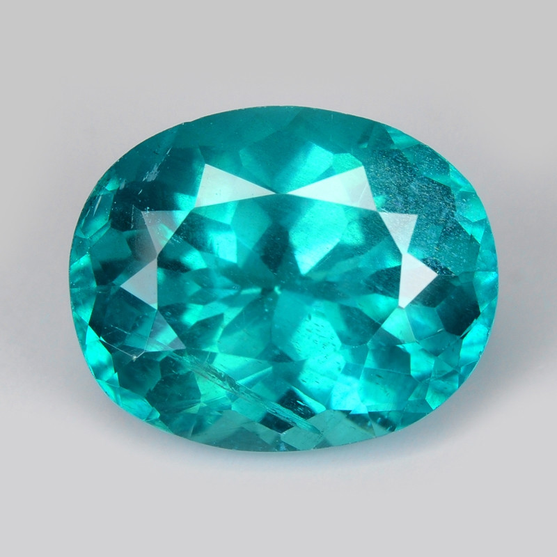*NoReserve*Neon Green Apatite 3.30 Cts Unheated Natural Gemstone