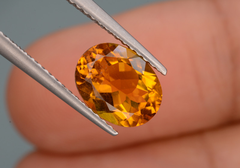 Natural  Heliodor 1.73  Cts, Top  Luster.