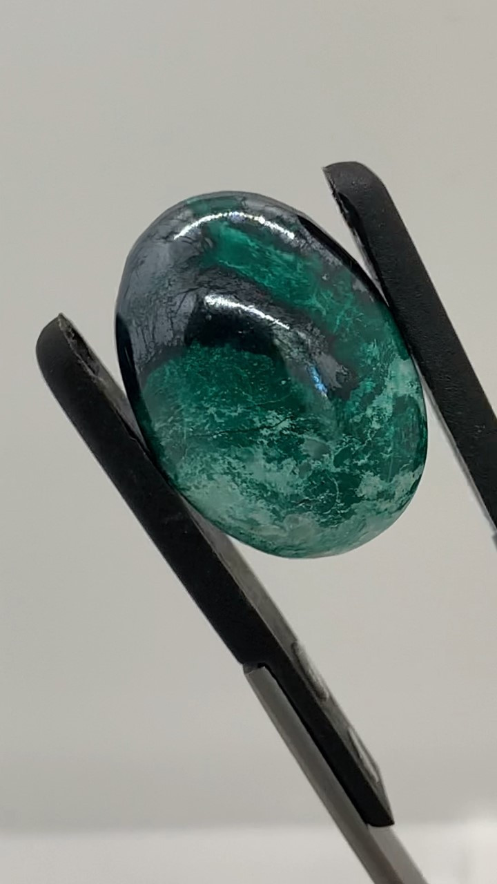 29.22 Ct Mexican Chrysocolla with Metallic Cuprite
