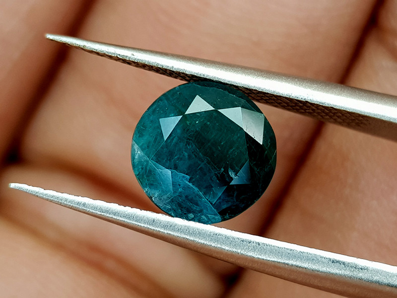 1.48Crt World Rarest Grandidierite  Natural Gemstones JI29