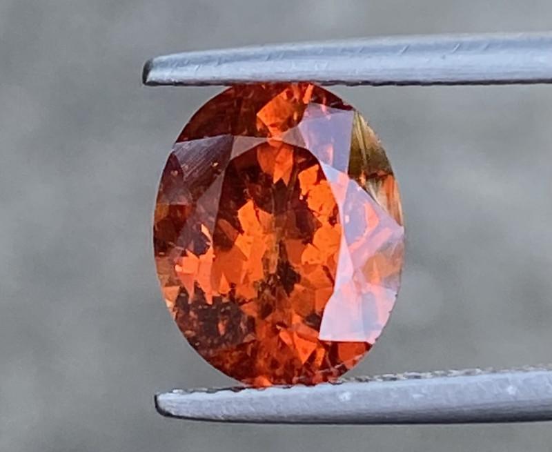 Natural Spessartite 4.38 Cts Nice Color Gemstone