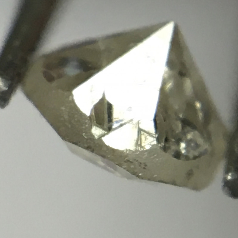 Trigons Alert! 0.24 Carat Cape Pique Single Cut Round Diamond