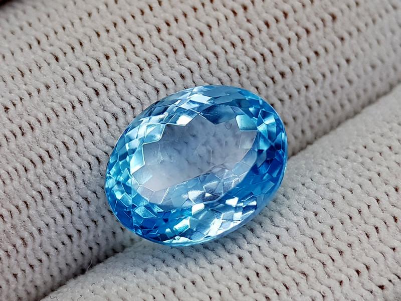 10CT BLUE TOPAZ BEST QUALITY GEMSTONE IIGC34