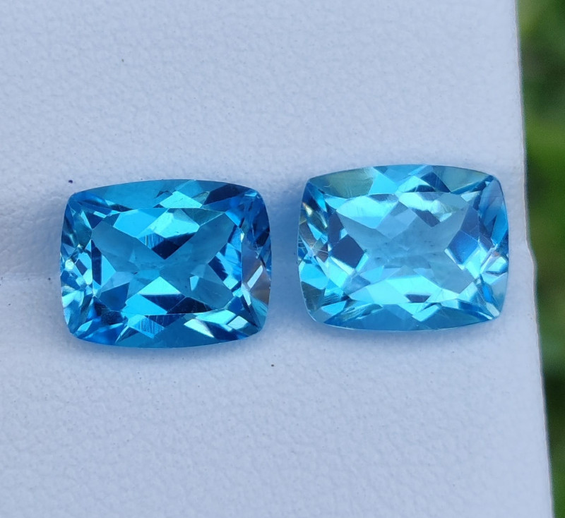 7.25 CTS INVESTMENT GEM~VIP SWISS BLUE TOPAZ  EXCLUSIVE !!