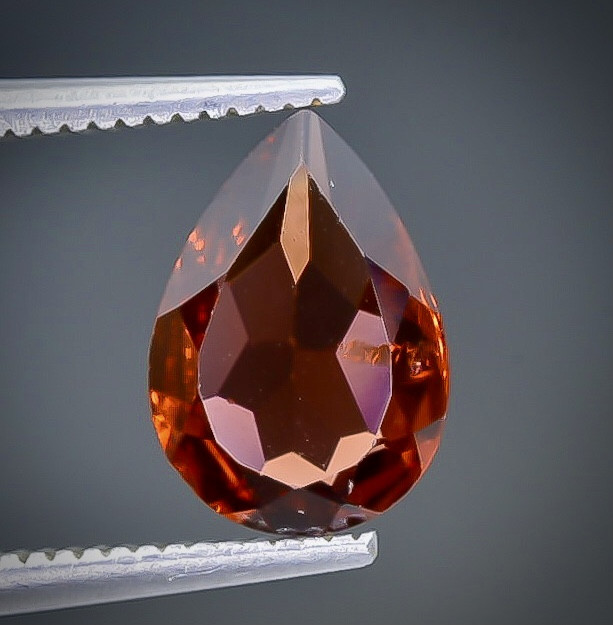 1.53 Crt  Garnet Faceted Gemstone (Rk-98)