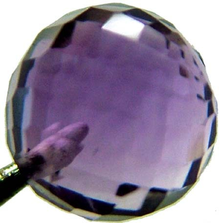 AMETHYST BALL DRILLED 2.25 CTS [TS428 ]