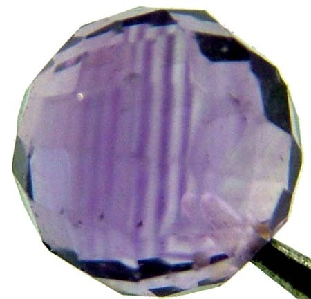 AMETHYST BALL DRILLED 2.50 CTS [TS440 ]