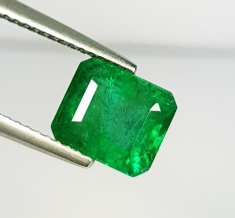 2.87 ct  Top Grade  Amazing Octagon Cut Natural Emerald
