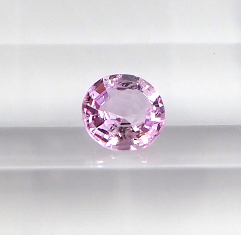 1.07ct unheated pink sapphire