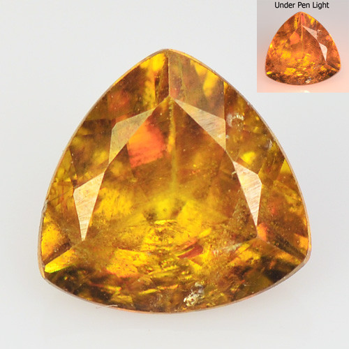 *NoReserve* SPHENE 1.29 Cts EXCELLENT COLOR CHANGE NATURAL