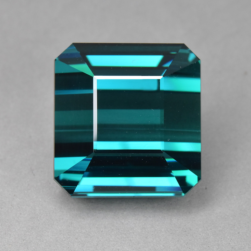 24.83 Cts Dazzling Wonderful Color  Natural Blue Green Tourmaline