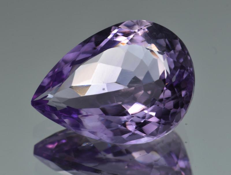 Natural Amethyst 11.17  Cts, Good Quality Gemstone