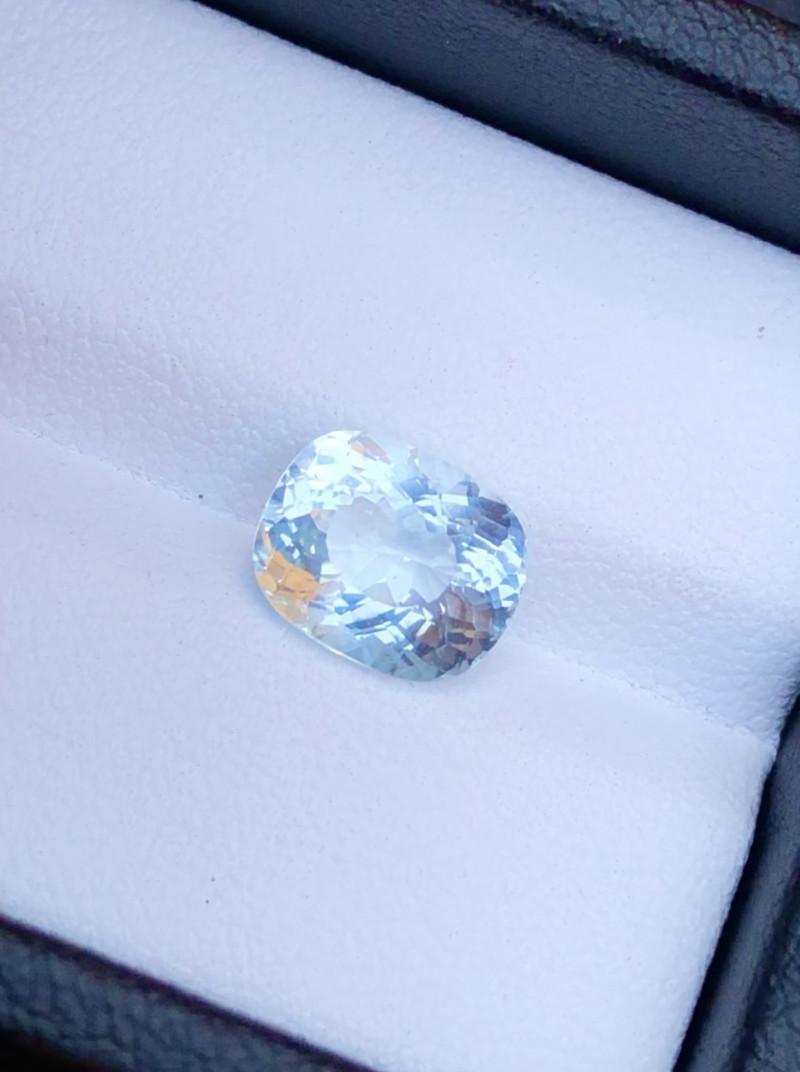 Amazing  Aquamarine 2.40 Ct Natural Beautiful Aquamarine Gemstone