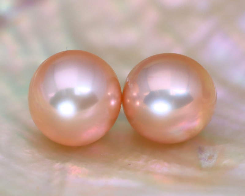 8.2mm 7.85Ct Natural Australian South Sea Pink Color Pearl C1216