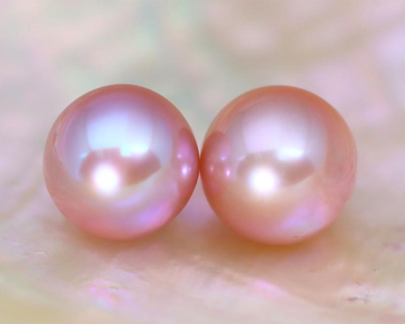 8.4mm 7.79Ct Natural Australian South Sea Pink Color Pearl C1233