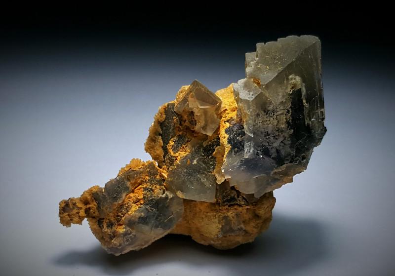 Amazing Natural color Damage free lovely shape Fluorite specimen 226Cts-P