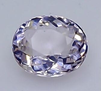 0.86 Crt Morganite  Faceted Gemstone (Rk-1)