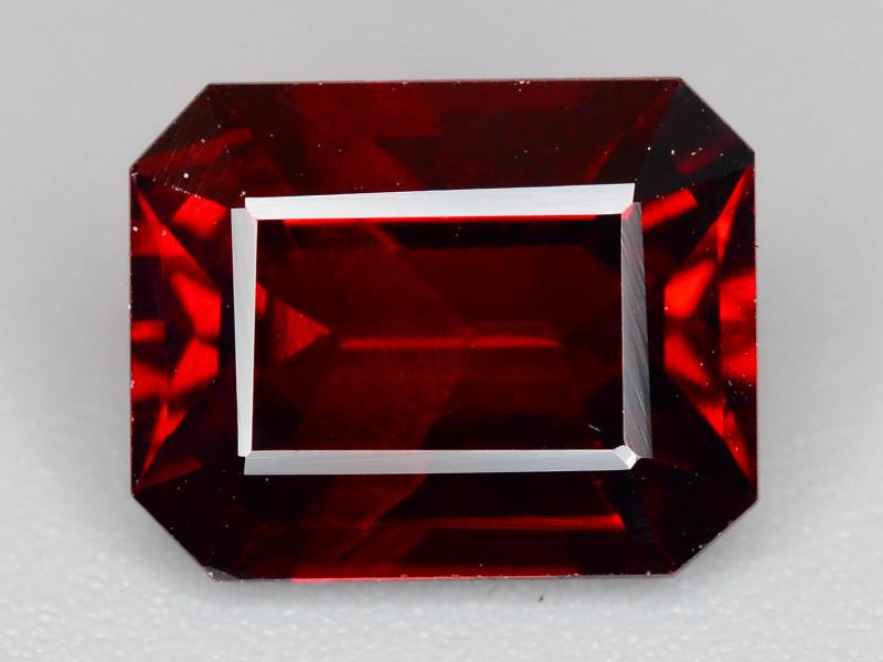 Top Grade 2.95 ct Fancy Cut Red Garnet