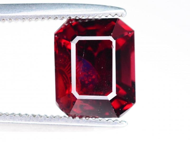 Top Grade 3.00 ct Fancy Cut Red Garnet