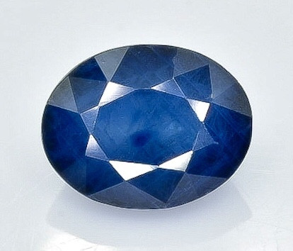 1.62 Crt Natural Sapphire  Faceted Gemstone.( AB 25)