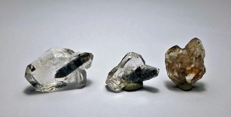 Amazing Natural  Diamond Quartz have inside another Quartz crystal