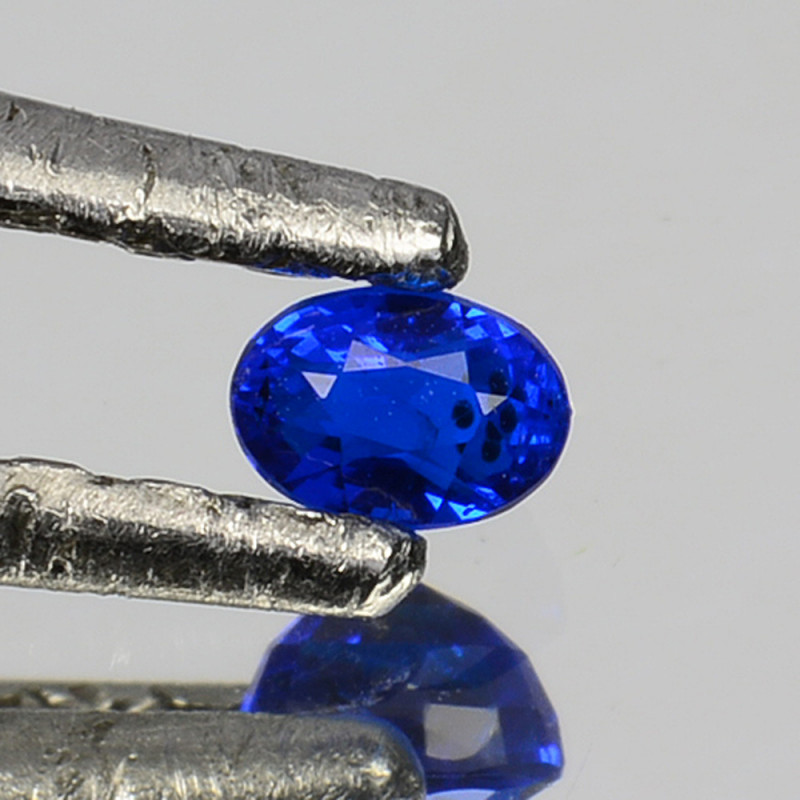 0.10 Cts Natural Electric Blue Hauyne Oval Cut South Africa