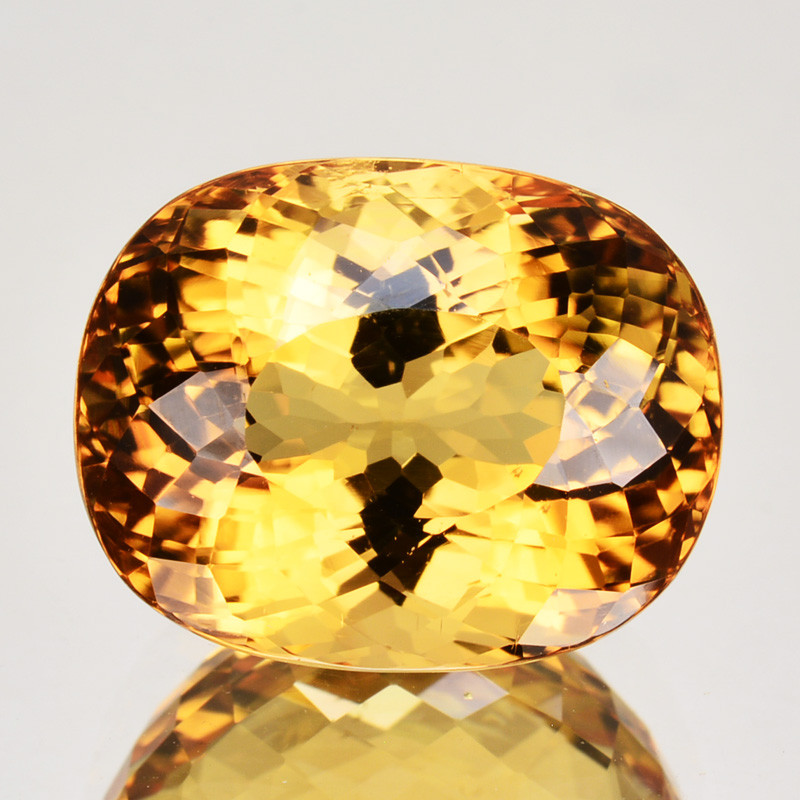15.76 Cts SPECTACULAR NATURAL YELLOW  TOURMALINE MOZAMBIQUE