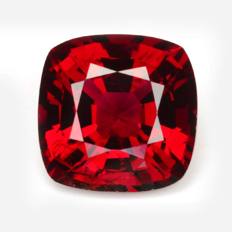 RED SPINEL 2.07 Cts  AIGS CERTIFIED Burma Red Spinel Natural Gemstone