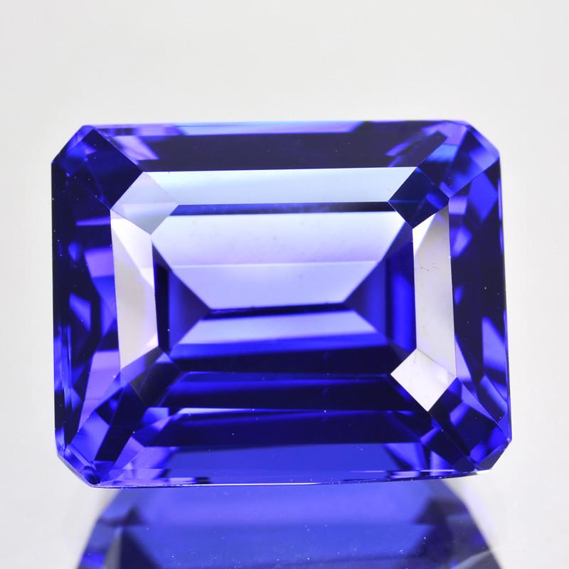10.45 Cts Natural Blue Tanzanite AAA Octagon Cut Tanzania