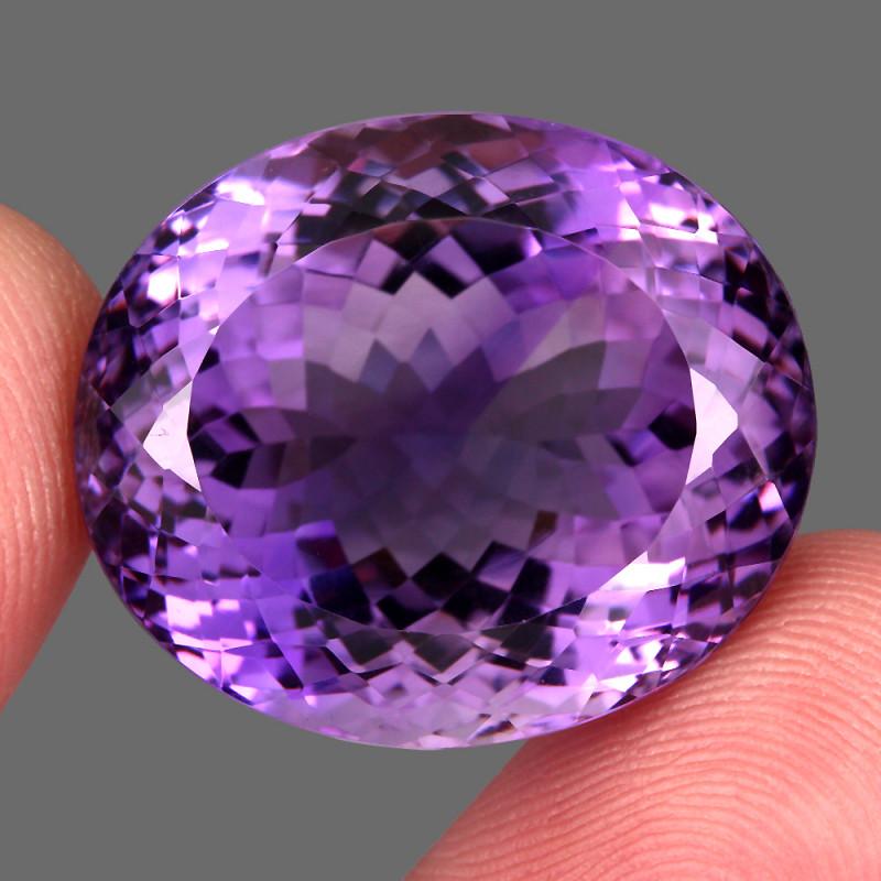 60.00  ct 100% Natural Earth Mined Unheated Purple Amethyst, Uruguay