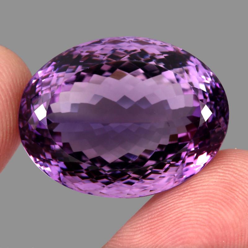 56.70 ct 100% Natural Earth Mined Unheated Purple Amethyst, Uruguay